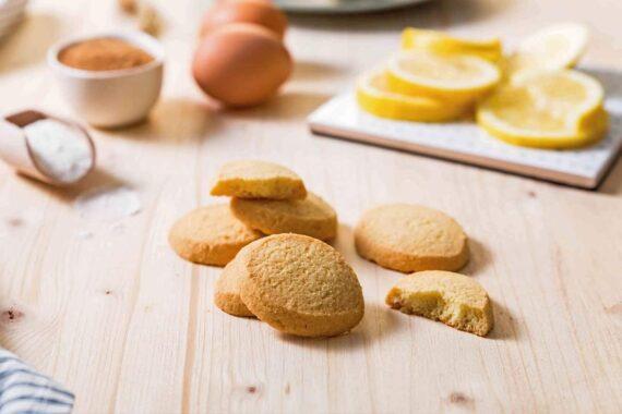 Biscotti Frollini al Limone