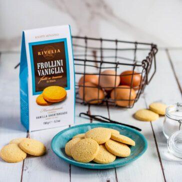 Biscotti Frollini alla Vaniglia